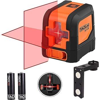 Plaque de cible magn/étique rouge pour mesurer la distance de niveau laser rotatif