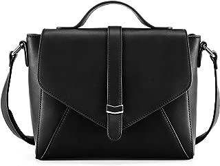 Plambag Crossbody Handbag for Women, Ladies Designer Satchel Shoulder Bag with Adjustable Strap