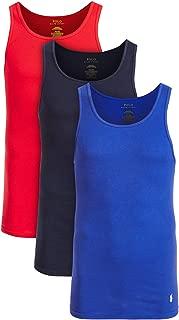 Polo Ralph Lauren Men's 3-Pk. Cotton Tank Tops Set, Royal/red/Navy