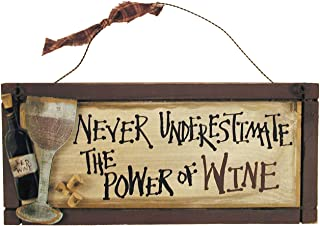 Ohio Wholesale That's The Power of Wine Wall Art, from our Wine Collection