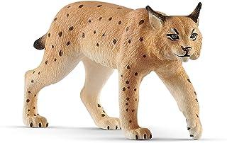 Schleich Lynx Toy Figure, Brown