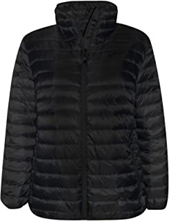 1b82cbe952f SportCaster Women s Plus Size Packable Down Jacket