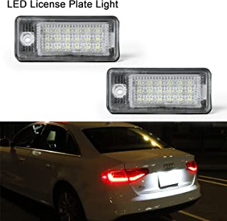 Luz de matrícula LED Gempro 2 X Luz de la matrícula 18 SMD con resistor de