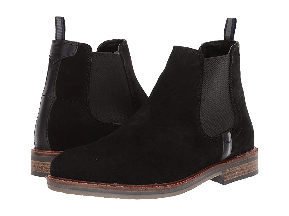 Steve Madden Blackburn (Black Suede) Men