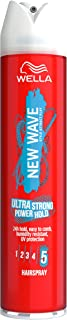 WELLA New Wave Ultra Strong Power Hold Hairspray - 250 ml