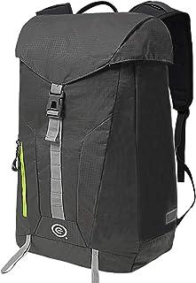 حقيبة ظهر إيكوجير دارتر قابلة للطي، حقيبة ظهر كاجوال مقاومة للماء، حقيبة ظهر خفيفة الوزن للرجال والنساء، حقائب السفر، رمادي