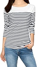 Best boat neck navy striped shirt Reviews