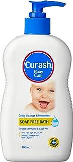 Curash Soap Free Baby Bath, 400mL