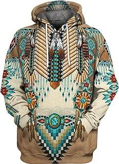 Best native pattern hoodie Reviews