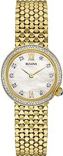 Bulova - Reloj Análogo clásico para Mujer de Cuarzo con Correa en Acero Inoxidable 98W218