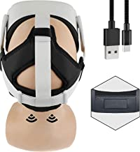 3 in 1 Accessory For Oculus Quest 2 - Comfort strap, Magnetic Battery Dock And Counter Balance