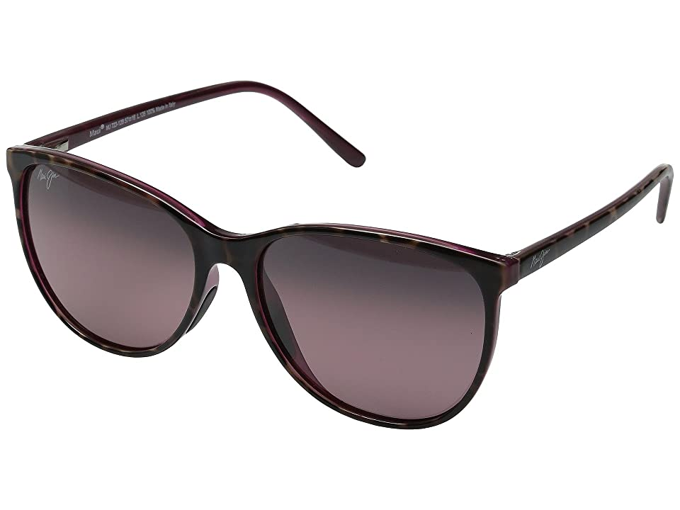 Maui Jim Ocean (Tortoise/Raspberry/Maui Rose) Fashion Sunglasses
