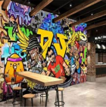Feisenbz Custom 3D Wallpaper Modern Street Cartoon Letters Graffiti Bar Ktv Living Room Decoration Wall Decoration Mural Wallpaper Art-C