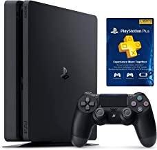 Newest Flagship Sony Play Station 4 1TB HDD Playstation PS4 Console Slim + PS Plus 3 Month Membership Bundle