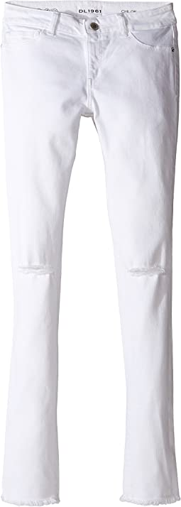 DL1961 Kids - Chloe Skinny Jeans in Eggshell (Big Kids)