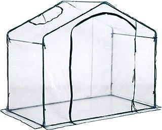 Outsunny Invernadero Transparente de Jardín Vivero Casero Plantas 180x105x165cm Marco Acero Jardinería Invernadero