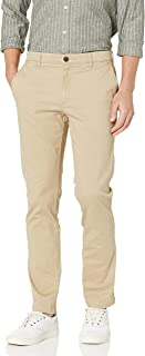 Men's Slim-fit Washed Chino Pant
