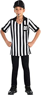 amscan Kids Referee Costume Kit- 3 pcs, Multicolor, One Size