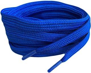Royal Blue Flat Shoe Laces For Trainers Skate Shoes, Hi Tops, Shoes Boots Converse Nikes Converse Pumas Shoelaces Laces ar...