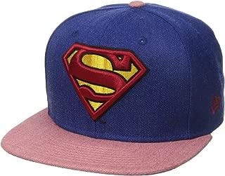 New Era Cap Men's Hero Heather 2 Superman 9fifty Snapback Cap