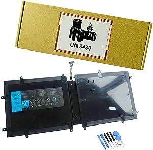 CQCQ 4DV4C Battery for Dell XPS 18 1810 1820 Series 4DV4C D10H3 63FK6 Laptop (14.8V 69Wh)