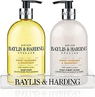 Baylis & Harding Sweet Mandarin & Grapefruit Hand Wash and Lotion Set