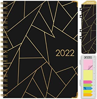"""HARDCOVER 2022 Planner: (November 2021 Through December 2022) 8.5""""x11"""" Daily Weekly Monthly Planner Yearly Agenda. Bookmar..."""