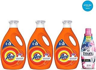 Ace + Downy Detergente Líquido, 9 l y Downy Floral Suavizante de Telas, 800 ml