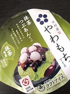 井村屋 やわもち抹茶つぶあん最中 140ml×24個 【冷凍】(12ケース)