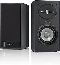 Infinity Reference 152 5-1/4 inch 2-Way Bookshelf Speakers Pair (Black)