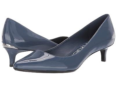 Calvin Klein Gabrianna Pump (Dark Steel Blue) Women