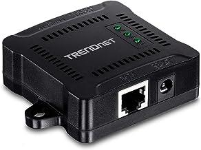 TRENDnet Gigabit PoE Splitter, TPE-104GS, 1 x Gigabit PoE Input Port, 1 x Gigabit Output Port, Up to 100m (328 ft.), Adjus...