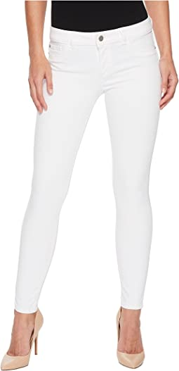 DL1961 Angel Instasculpt Skinny Jeans in White