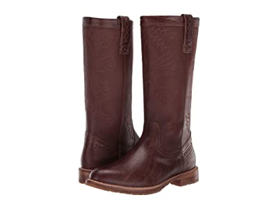 Lucchese All-Weather Waterproof Rain Boot (Whiskey) Women