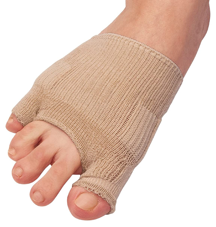州専門どのくらいの頻度で綿混サラリ洗える外反母趾パッド(1枚入り) ベージュ