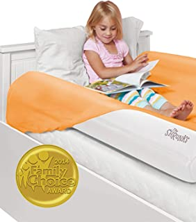 The Shrunks Inflatable Kids Bed Rails for Toddlers Portable Safety Guard Side Bumpers {2 Pack} for Children and Adult Beds Great Home or Travel. Have Your Child Sleep Safe and Comfortable