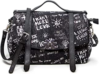 Luxury Fashion   Desigual Womens 19WAXA78BLACK Black Shoulder Bag   Fall Winter 19