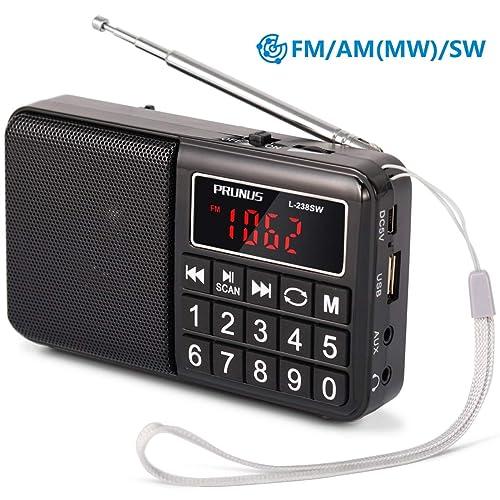 AM/FM Radio: Amazon co uk