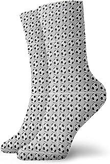 Dydan Tne, Calcetines Estampados de fútbol Divertidos para niños y niñas Calcetines Lindos de Vestir de Novedad