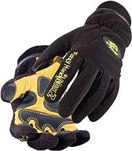 Black Stallion Fuzzy Hand Max2 Gloves - LARGE