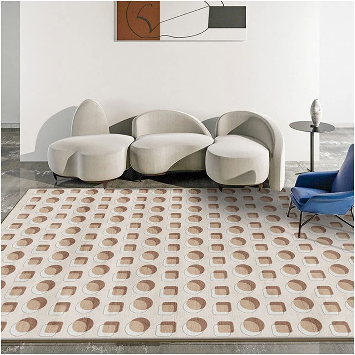 Area Bedroom Rugs,Pattern Carpet for Household Living Tulsa Mall Bed Room Challenge the lowest price