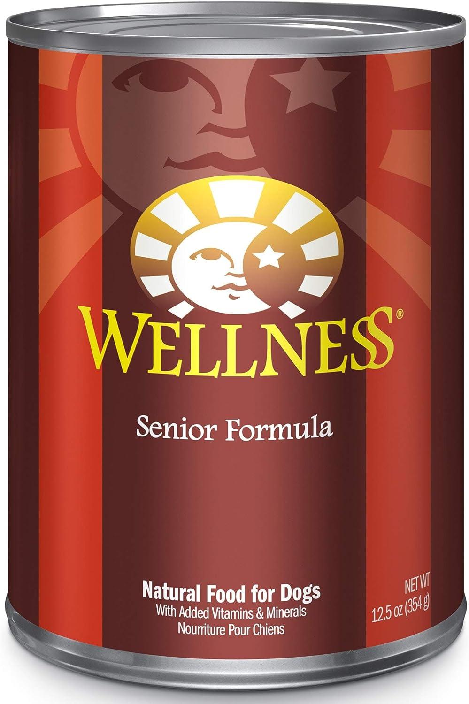 Wellness Complete Health Natural Senior Recipe Wet Dog Food, 12.5 oz., Case of 12, 12 X 12.5 OZ