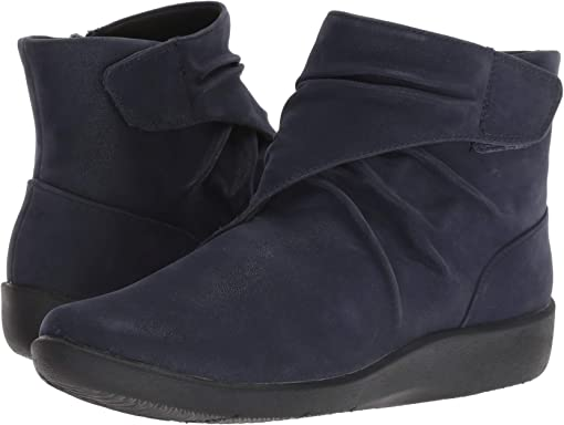 Navy Synthetic Nubuck