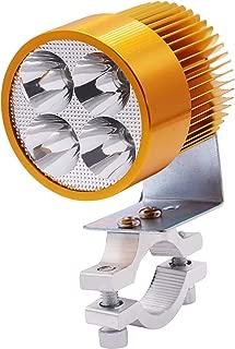 E-Bro 12V-85V Universal Motorcycle E-bike 20W LED Modified Headlight Lamp Gold