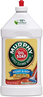 Murphy's Oil Soap Squirt and Mop Wood Floor Cleaner - 32 Fluid Ounce
