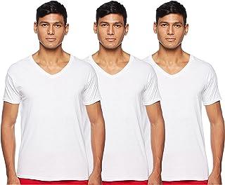 Hanes Men's Tagless Cotton V-Neck Undershirt, Multipack