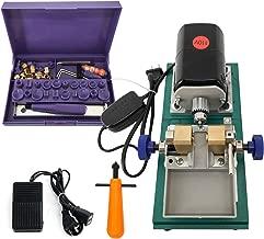 YaeTek 110V Full Set Jewelry Jade Pearl Stepless Drilling Holing Machine Driller Tools - Pearl Drilling Machines Driller Drill Holder for Shell Coral Amber Stone Silver
