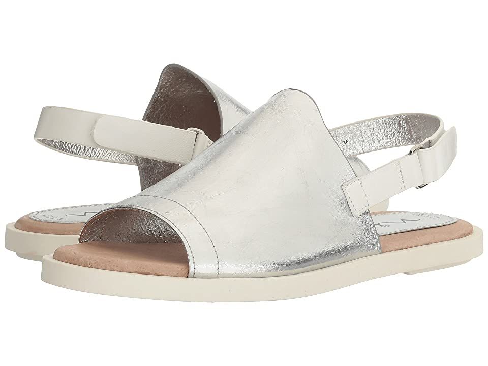 Nina Summer (Silver Tumbled Metallic Cow) Women