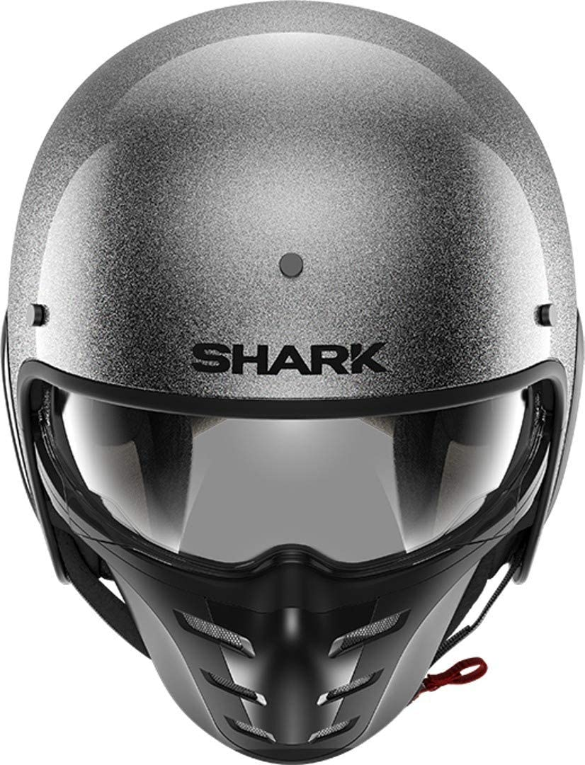 Shark Motorradhelm S-DRAK 2 BLANK MAT KMA Schwarz XS