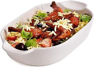 LYOU Stoneware Oval Baking Dish, Bakeware Set Ceramic Baking Pan Lasagna Pans for Cooking, Kitchen, Cake Dinner, Banquet a...